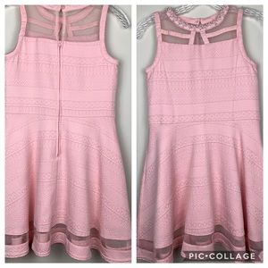 Children's Place Pink Pale Dress Size L 10/12